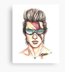 Iggy Stardust Canvas Print
