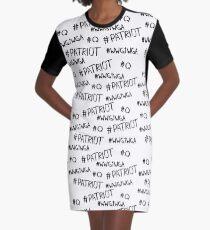 Hashtag - #Patriot #WWG1WGA #Q Graphic T-Shirt Dress