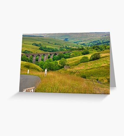 Dales Viaduct Greeting Card