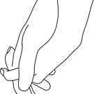 halte meine Hand von katielavigna