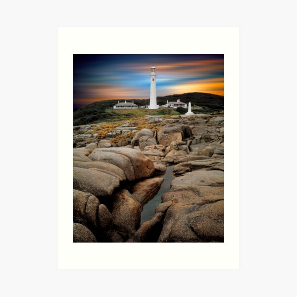 Point Hicks, Victoria. Art Print