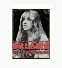 Dreams - Fleetwood Mac (Stevie Nicks) Art Print