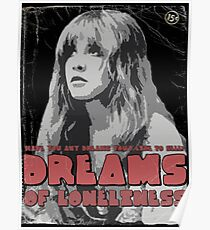 Dreams - Fleetwood Mac (Stevie Nicks) Poster