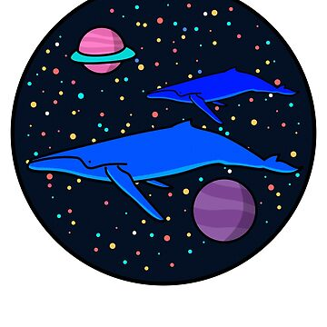 Space Whale by ogrubxn