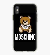 watch c4e0c 4a72f Moschino iPhone cases & covers for XS/XS Max, XR, X, 8/8 Plus, 7/7 ...