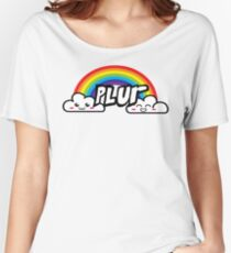 plur rainbow  Women's Relaxed Fit T-Shirt