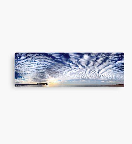 Kwinana Sky (Multi Row Panorama!)   Canvas Print