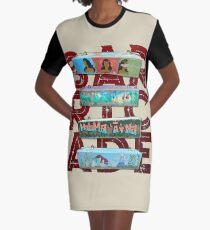 AHT - The Barricade Graphic T-Shirt Dress