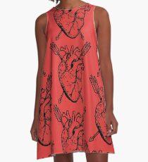 Hunted Heart A-Line Dress