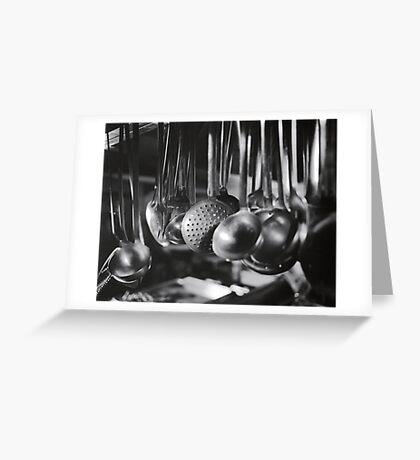 Ladles & Spoons Greeting Card