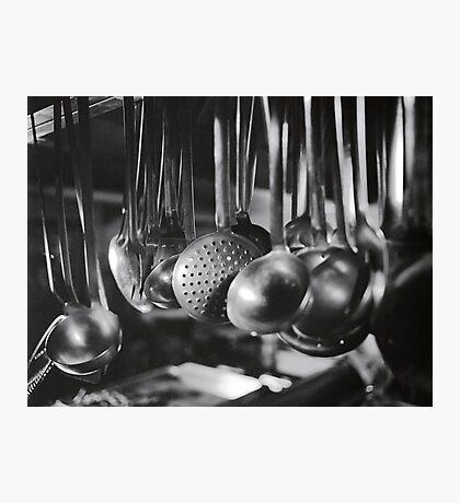 Ladles & Spoons Photographic Print