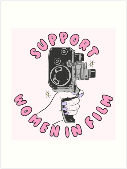 Unterstützen Sie Frauen im Film von crystaldraws