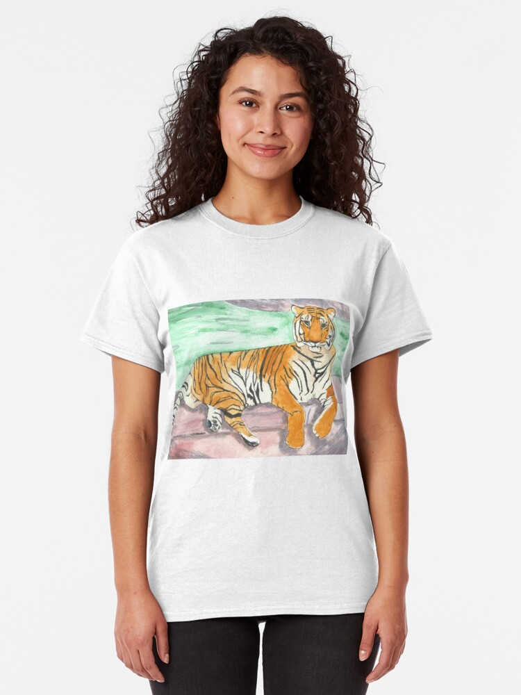 Alternate view of Tiger Two Classic T-Shirt