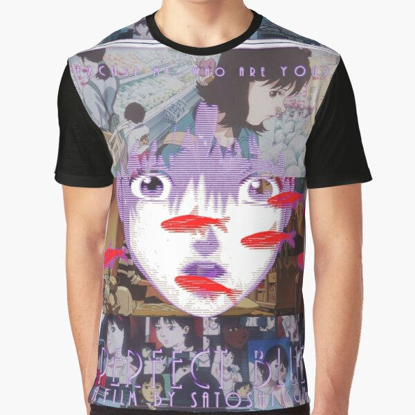 Perfect Blue Satoshi Kon Animated Film Collage Graphic T-Shirt