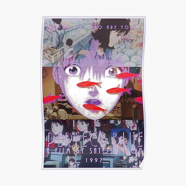 Collage de films d'animation Perfect Blue Satoshi Kon Poster