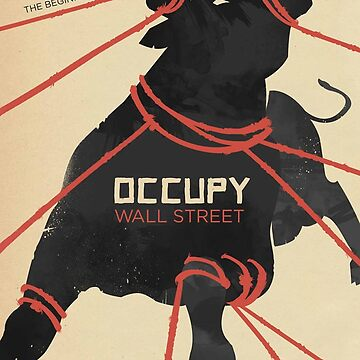 Occupy Wall Street Art - The Beginning is Near by IntrepiShirts