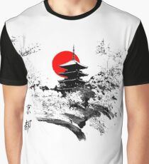 Kyoto Japan Old Capital Graphic T-Shirt