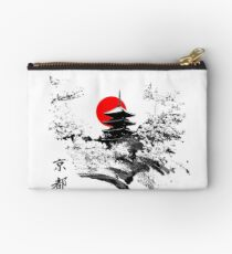 Kyoto Japan Old Capital Zipper Pouch