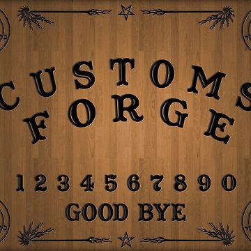 CustomsForge Ouija Board by voyev0da