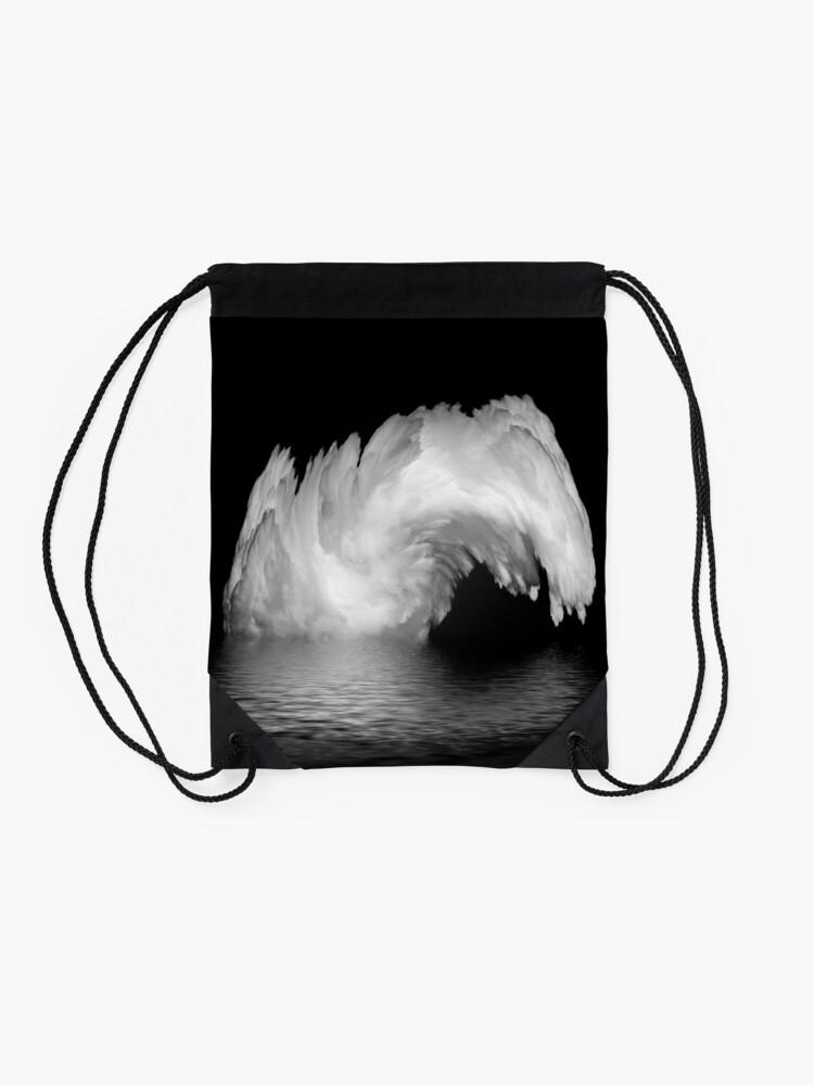 Alternate view of fountain? Drawstring Bag