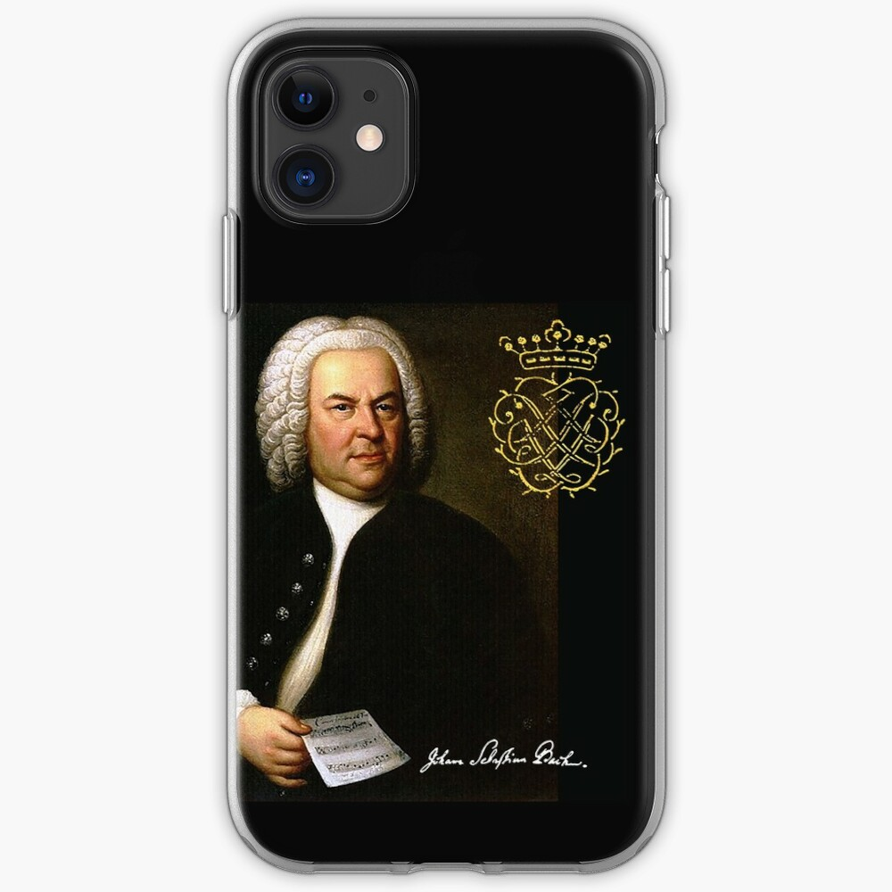 Bach with his Monogram iPhone Case & Cover