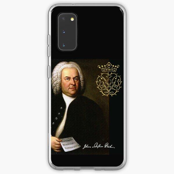 Bach mit seinem Monogramm Samsung Galaxy Flexible Hülle
