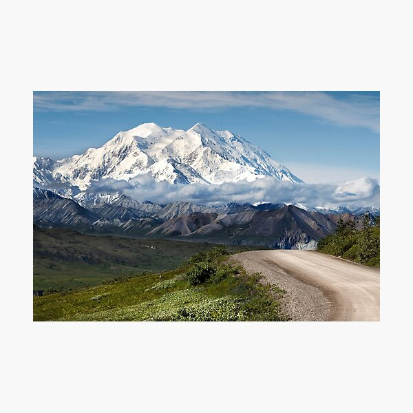Mount Denali, Denali National Park, Alaska Photographic Print