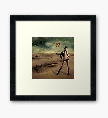 Valley of Death Framed Print