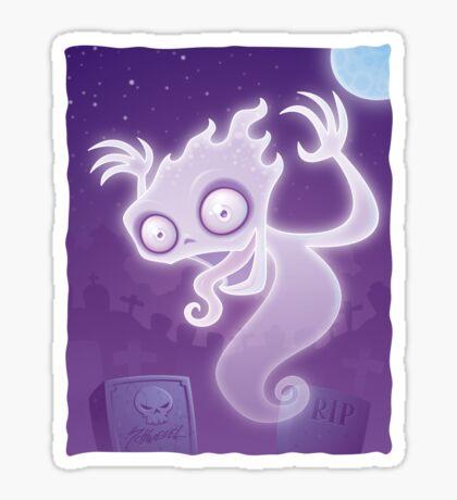 Ghost in the Graveyard Sticker