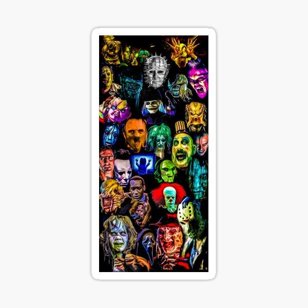 horror film baddies legends Sticker