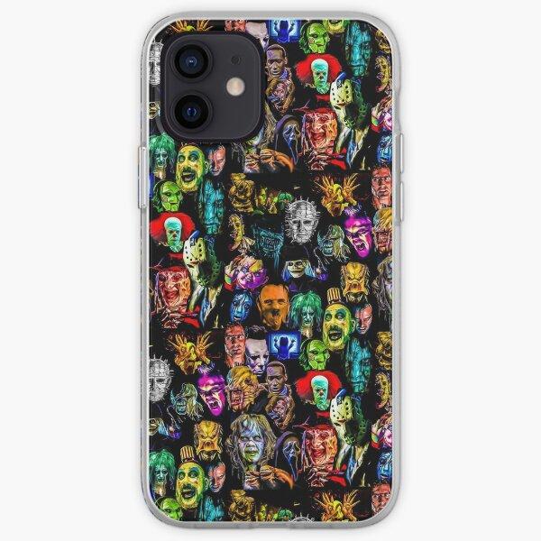 horror film baddies legends iPhone Soft Case