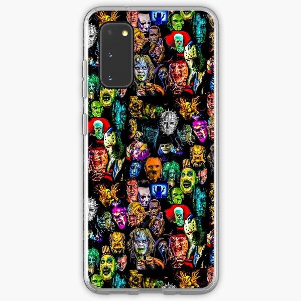 horror film baddies legends Samsung Galaxy Soft Case