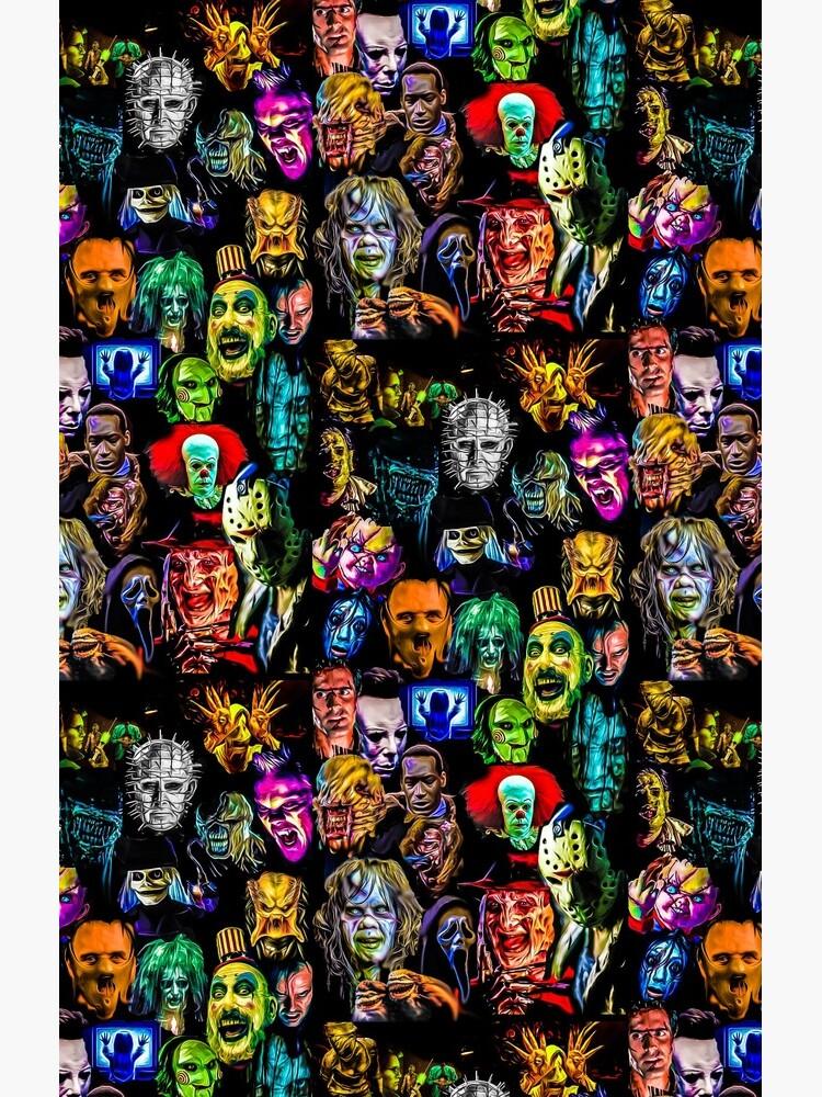 horror film baddies legends by mrilladesigns
