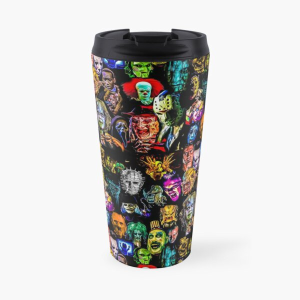 horror film baddies legends Travel Mug