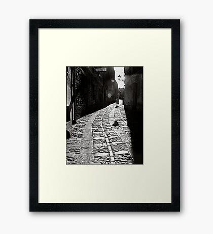 Carabinieri Framed Print