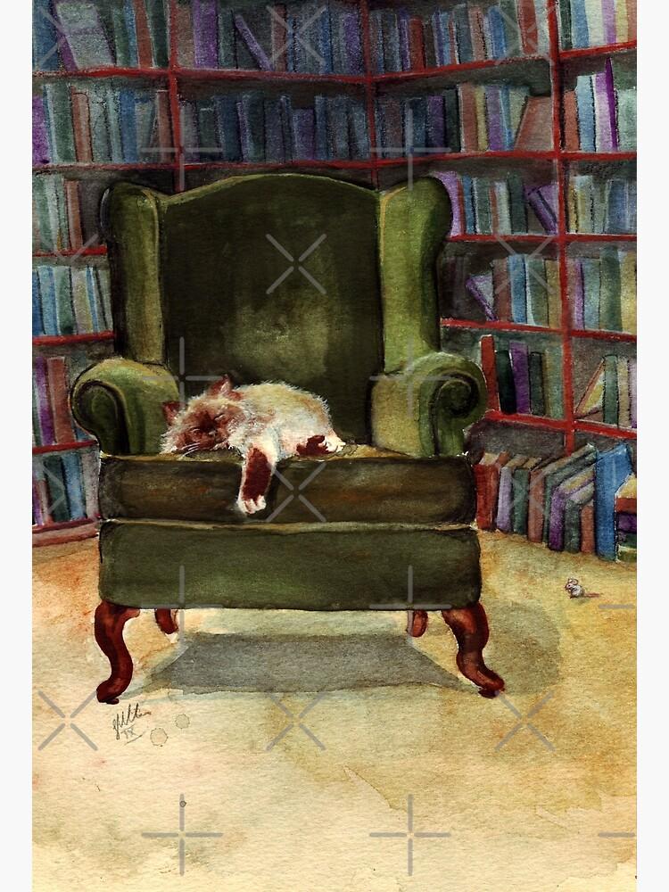Monkey's Library by Artsez