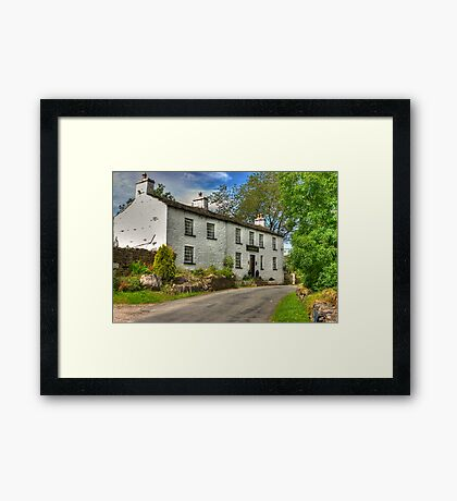 Sportsman Inn - Cowgill. Framed Print