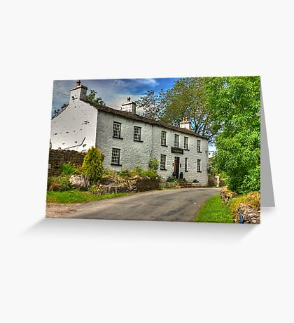 Sportsman Inn - Cowgill. Greeting Card