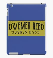 Dwemer Nerd Skyrim Elder Scrolls V iPad Case/Skin