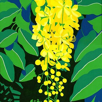 Golden Rain Tree by srwdesign