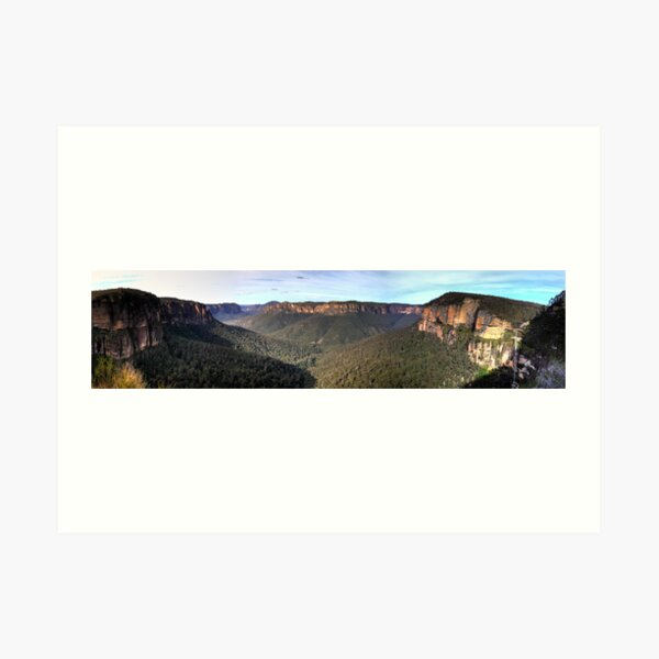 Govetts Leap Art Print