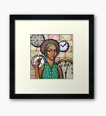 Time Is Success Framed Print