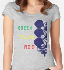 Traffic Light Women's Fitted Scoop T-Shirt