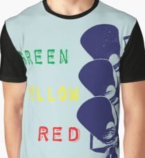 Traffic Light Graphic T-Shirt