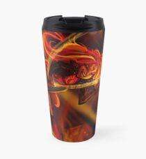 Sunset Eruption Travel Mug