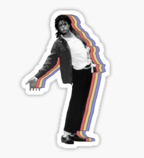 Michael Jackson Layered Sticker