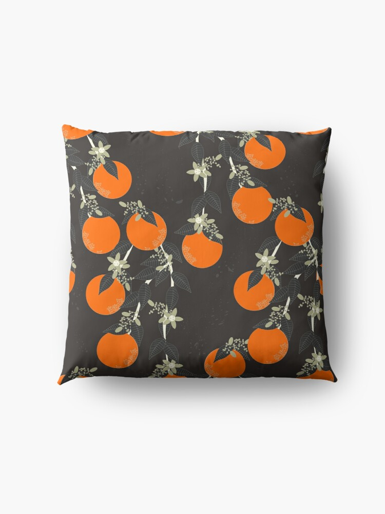 Alternate view of Oranges Floor Pillow