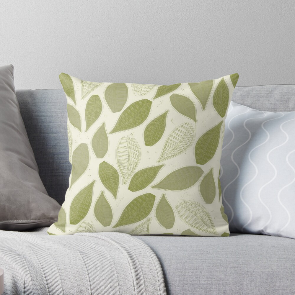 Oranges Collection III Throw Pillow
