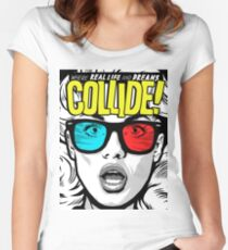 Collide Women's Fitted Scoop T-Shirt