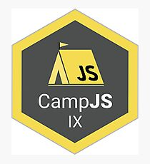 Official CampJS IX Merch! Photographic Print
